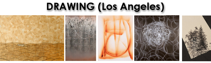 Featuring drawings by Jackie Freedman, John Knuth, Stas Orlovski, Christopher Russell and Alisa Yang at Another Year in LA