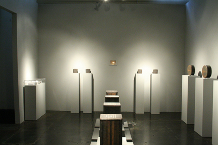Installation view of Stephen J. Kaltenbach: TIME CAPSULES (1970 - present)