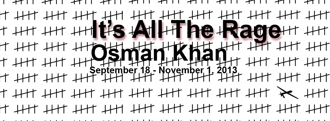 2013 solo exhibition of New Work by Osman Khan